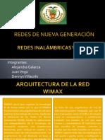 WiMAX Arquitectura y Características