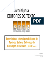 Tutorial Para Editores de Texto
