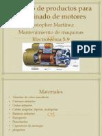 Catalogo Para Rebobinado de Motores
