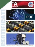 Certification Booklet