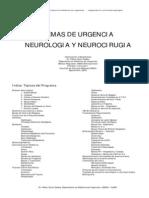 Temas de Urgencia Neurologia Y Neurocirugia