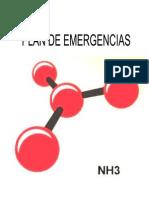 Amoniaco Plan de Contingencia