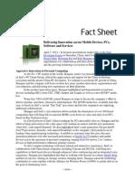 IDF SZ News Factsheet