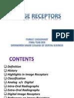 Image Receptors - For Dental Radiology Seminar