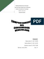 Comportamiento Del Consumidor Venezolano