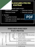 Dokumen - Dokumen Proyek