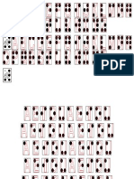 1. Moldes de Números Braille.