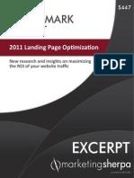 EXCERPT PLAIN BMR 2011 Landing Page Optimization