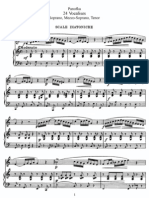 Panofka Heinrich - The Art of Singing 24 Vocalises Op.81 (Soprano,Mezzo-Soprano,Tenor)