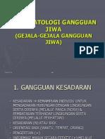 3b. Psikopatologi Gangguan Jiwa