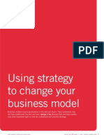 Using Strategy to Change Your Business Nmodel