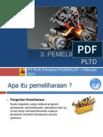 Pemeliharaan Pembangkit Listrik Tenaga Diesel