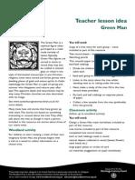 green man lesson plan