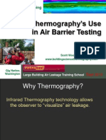 Thermography and Air Barriers