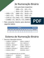 Sistema de Numeração Binário