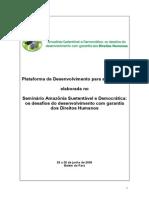 2 Plataforma Politica Amazonia