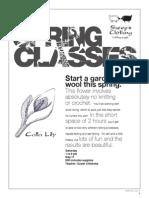 2014 Spring Classes