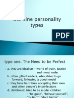 The Nine Personality Types