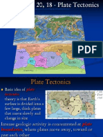 Plate Tectonics_Chapter 19, 20, 18