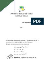Funciones Varias Variables - Cálculo 3
