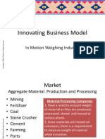 Innovating Business Model of in Motion Weighing Industry
