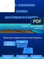 CDG - Modelo Planeamiento Estratégico Organizacional (Congreso República)