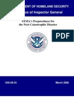 FEMA_preparedness Report 2008