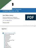 PoPL Lecture 3 SML
