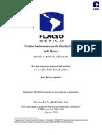 01. Los Que Regresan Migración de Retorno... José Franco Aguilar