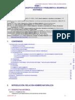 Tarrío, Luis. Álvarez, Miguel. El Medio Ambiente. Conceptos Generales y Problemática. Desarrollo Sostenible.