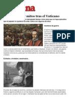 Las Historias y Mitos Tras El Vaticano