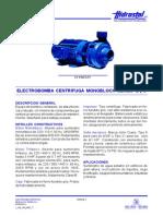 electrobomba centrifuga seriebc