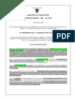 Decreto 1660 de 2003 Discapacitados