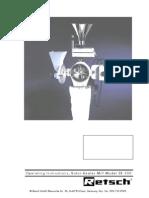 Manual de utilizare  Moara Cu Rotor SR300