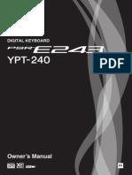 Yamaha PSR E243