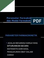 129874984 P 2 1 Parameter Farmakokinetik Dan Model Far