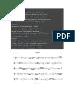 Partituras de Violin