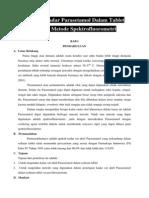 Analisis Kadar Parasetamol Dalam Tablet Dengan Metode Spektrofluorometri