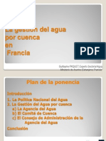 La Gestión Del Agua Por Cuenca en Francia