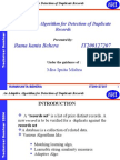 An Adaptive Algorithm for Detection of Duplicate Records