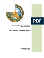 2012 CDCR CA INMATE INMATES WHO REOFFEND LEAST