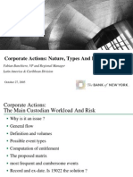 Corporate Actions Nature, Types and Entitlement