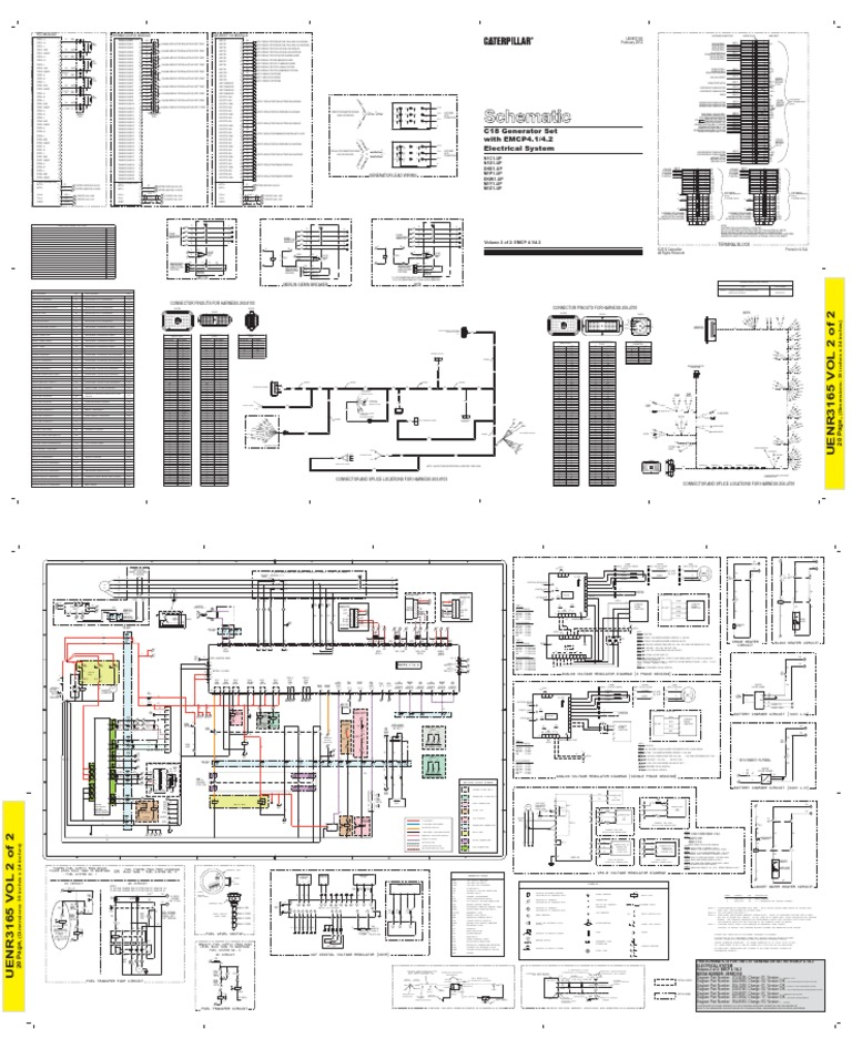 1509896518 c18 emcp4 2 wiring Caterpillar SR4B Model Specification Sheet at bayanpartner.co