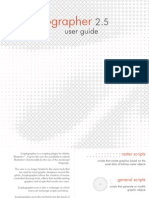 Scriptographer User Guide