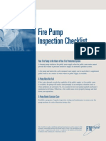 Fm Fire Pump Inspection Checklist and Form