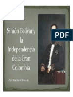 Unidad 3 Simón Bolívar - Ana María Orozco