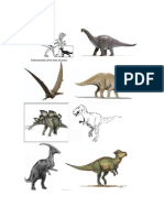 Dinosaurs Info Sheet for Kids