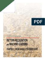 Linear Regression Models CGFM