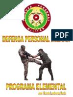 defensa personal militar, programa elemental