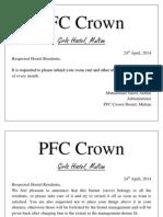 PFC Crown Hostel